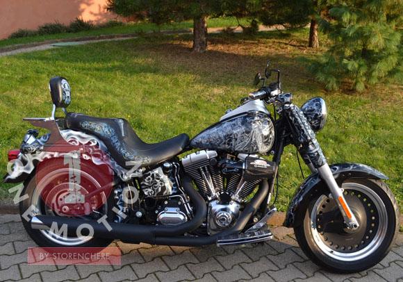Coussin De Selle Harley Davidson Fat Boy